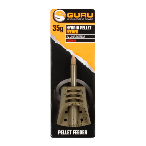 Guru In-Line Hybrid Pellet Feeder Small 35g