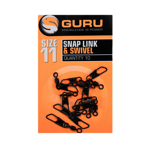 Guru Size 11 Snap Link + Swivel
