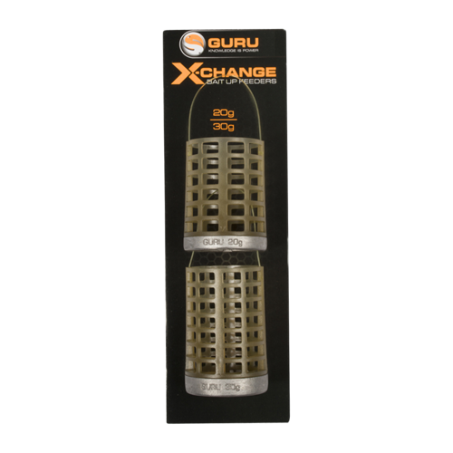 Guru X-Change Bait Up Feeder Medium 20g + Large 30g
