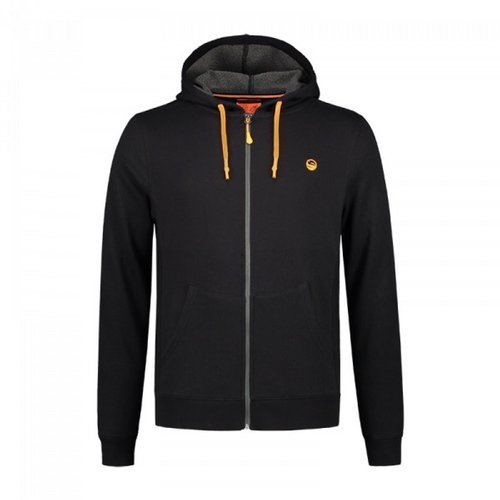 Guru Zip up Hoodie Black M